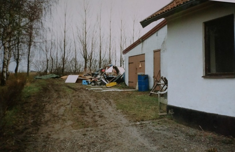 Nyss köpt hus o tomt -95
