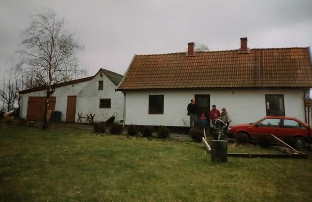 Nyss köpt vårt hus 1995