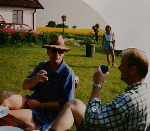 Sommaren 1996 Åsa o Peter o Mats