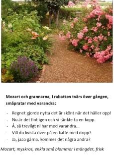 Mozart talar med grannarna