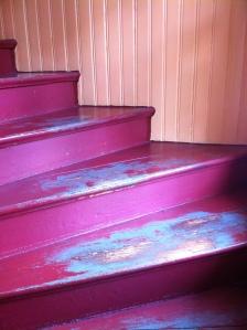 Sliten trappa hos LoM