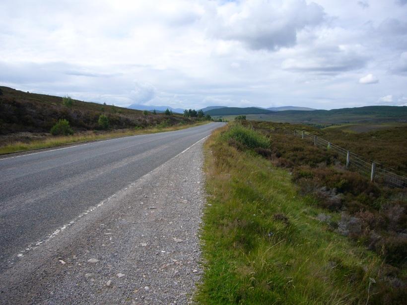 Väg i Skottland