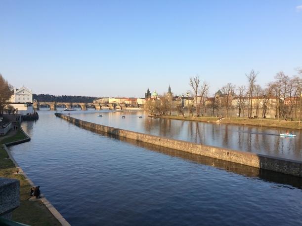 Moldau Prag -15