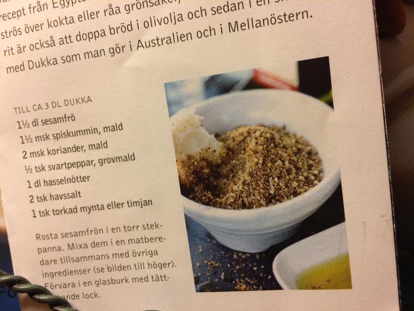 Dukka-recept