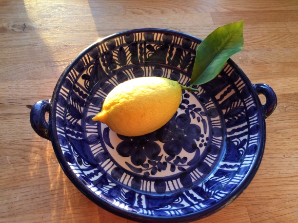 Citron egen skörd
