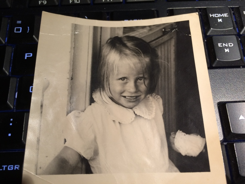 Agneta 2,5 år macka