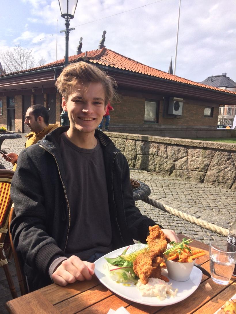 Pontus lunch i Varberg