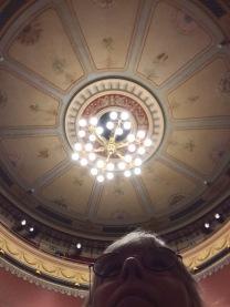 Varbergs teater, taket