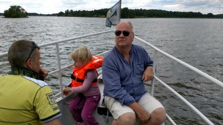 Munther Hallbosjön Mats i fören