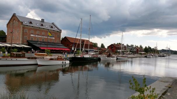 Nyköpings hamn veteranbåtar