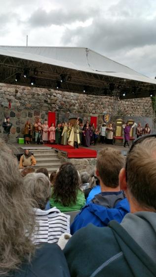 Nyköpingshus Anno 1317 scenen