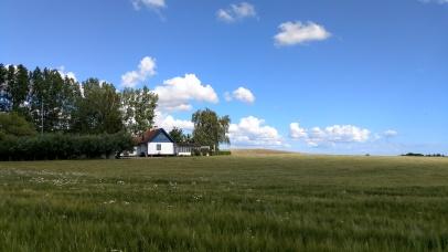 Vårt hus från grannen
