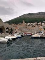 20181021 Dubrovnik småbåts