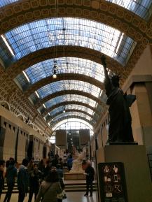 d'Orsay stora museihallen