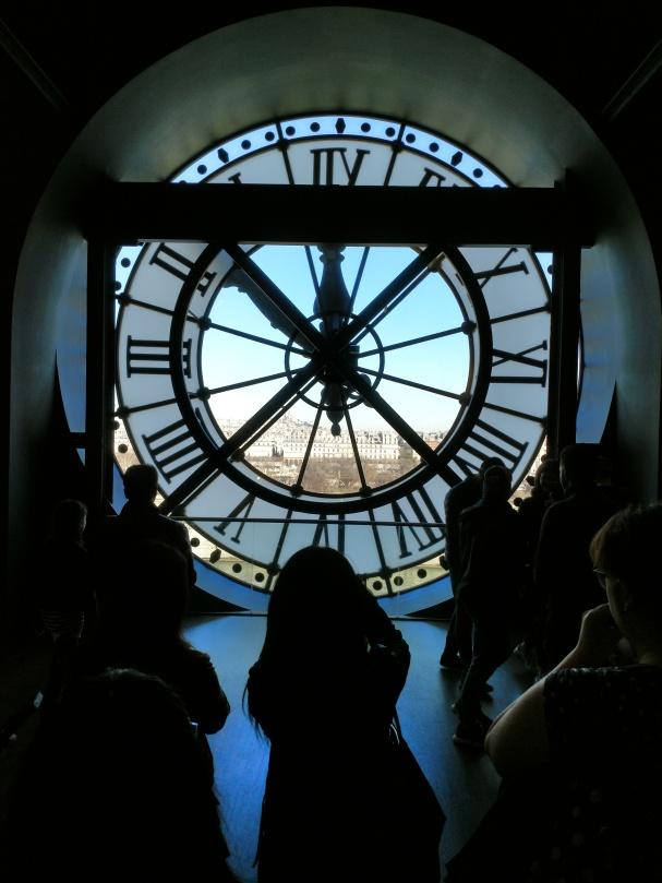 d'Orsay utsikt mot Sacre Coeur