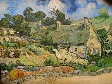 d'Orsay van Gogh hus i olja