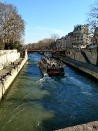Flanera dag Seine båt
