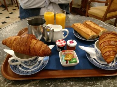 Hotellet frukost