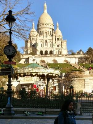 Sacre Coeur och karusell