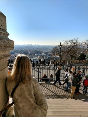 Sacre Coeur utsikt Agneta