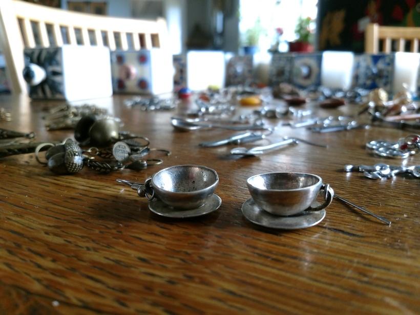 Tekoppar silver