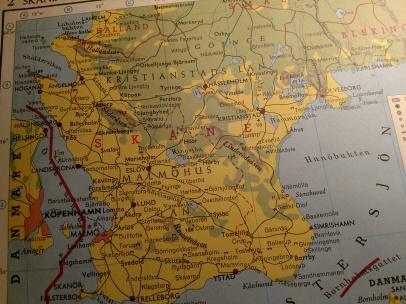 Kartbok från 1956